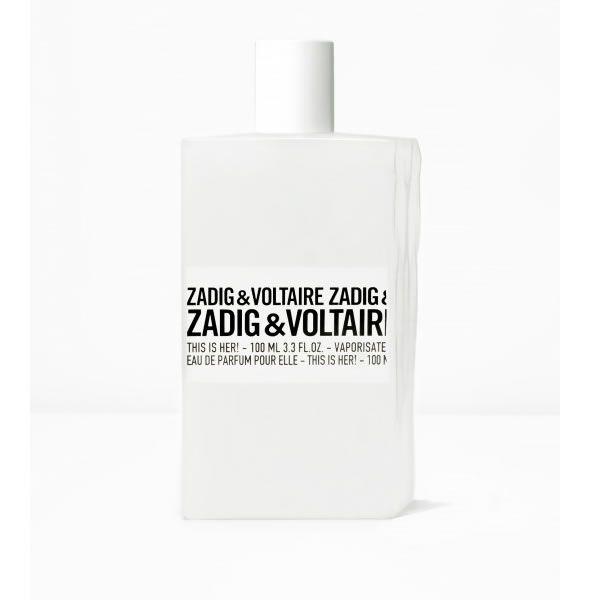 Zadig Et Voltaire This Is Her! Eau De Parfum Vaporisateur 100ml Cosmetiques…