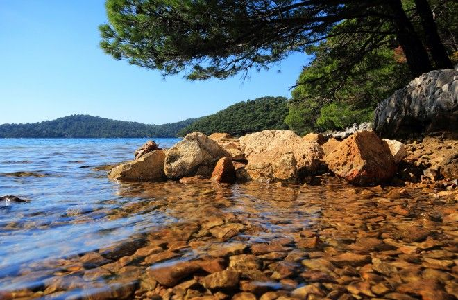 Island of Proizd, near Vela Luka, island of Korčula, Croatia