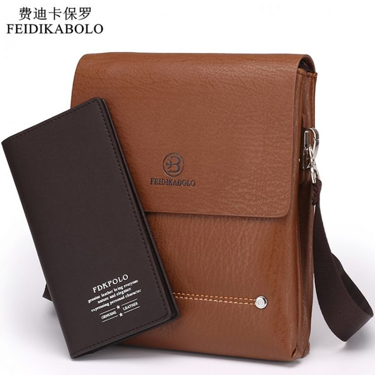 2015 Latest arrival Bilayer Leather Messenger Bag Cheap Men's shoulder bag Specials small leisure satchel Business envelope bagLeather Bags