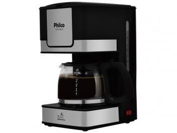 Cafeteira Elétrica Philco PH16 15 Xícaras Inox - Preto