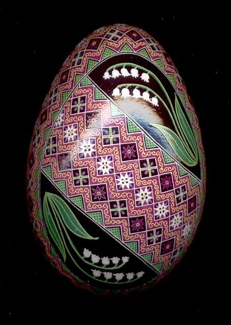 Pysanky, Pysanka Ukrainian Easter Egg by So Jeo.