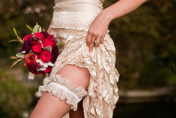 Yeah, you know I'm gonna have a scandalous garter shot ...