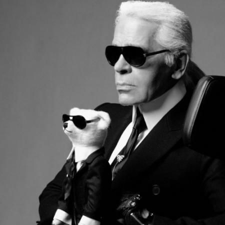 Lagerfeld chef designer chanel house