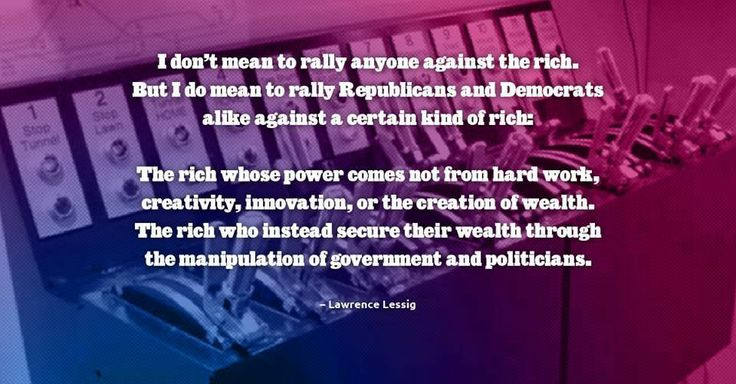 ~ Lawrence Lessig