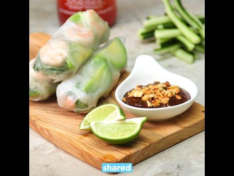 Eat Fresh With These Shrimp Rolls - Shared