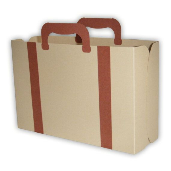 IMPORTANT: Suitcase template will be slightly modified from the images used in this listing. Youll receive a printable digital pdf template and