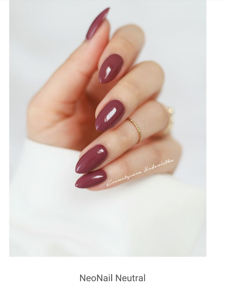 Pretty shape, color, and length. #nailswag