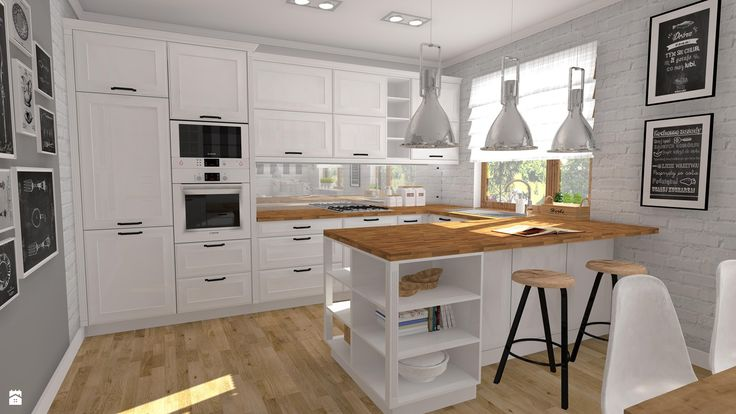 Kuchnia styl Vintage - zdjęcie od Atelier Art&Design - Kuchnia - Styl Vintage - Atelier Art&Design