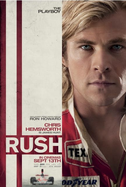 Rush Chris Hemsworth at his most beautiful!@Jenny Bonanno  click on picture the trailer is attached!! :)