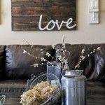 love - re-purposing old wood