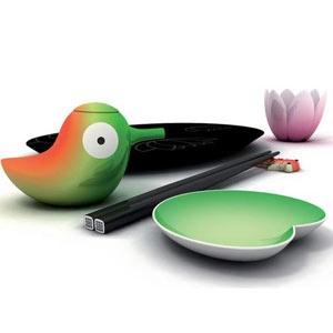 alessi sushi set - OK, so not exactly Italian, but so stinkin' cute! ~Saucy