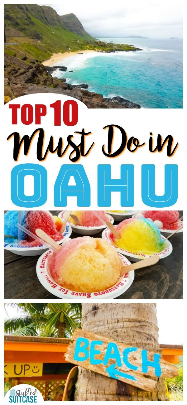 Best Oahu Hawaii Ideas On Pinterest Honolulu Hawaii Oahu - 10 things to see and do in honolulu