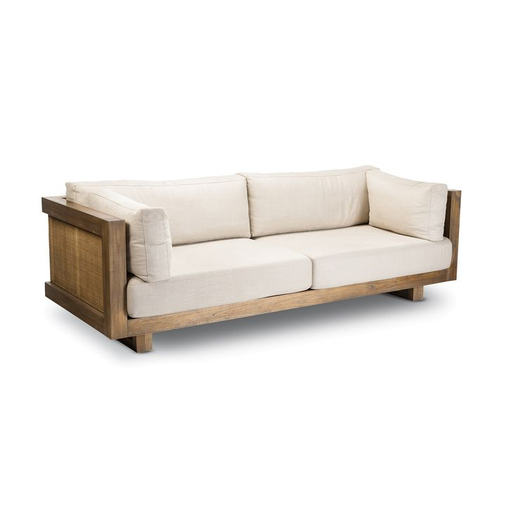8 best Wood Frame sofas images on Pinterest   Canapes, Couches and ...