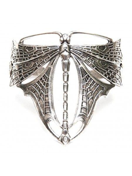 Bracelet Libellule argent , bijoux fantaisie pour femme et accessoire de mode, bijoux tendances pas cher, bijoux originaux de créateur, bracelet, bague, bandeau
