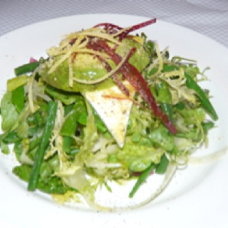 Balthazar salad with truffle vinaigrette in Soho #NYC | Food at Home ...