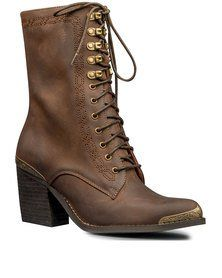 Jeffrey Campbell Boothe MT Boots Brown