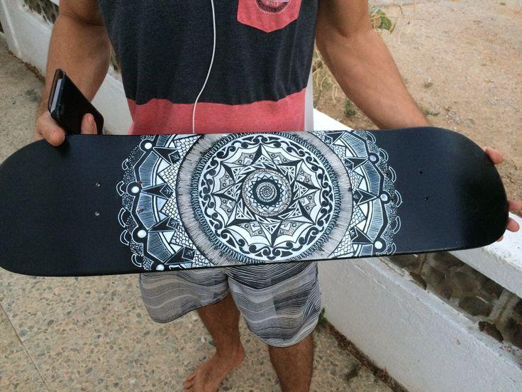 Mandala Sk8 board