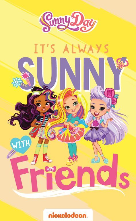 Sunny Day, the new series on Nickelodeon, teaches kids that it's always sunny with friends! Boys and girls-in-charge can make any day a Sunny Day through friendship, teamwork, and a positive attitude. How's that for an inspirational quote for your son or daughter? Find the latest episodes at Nick Jr. On Demand.