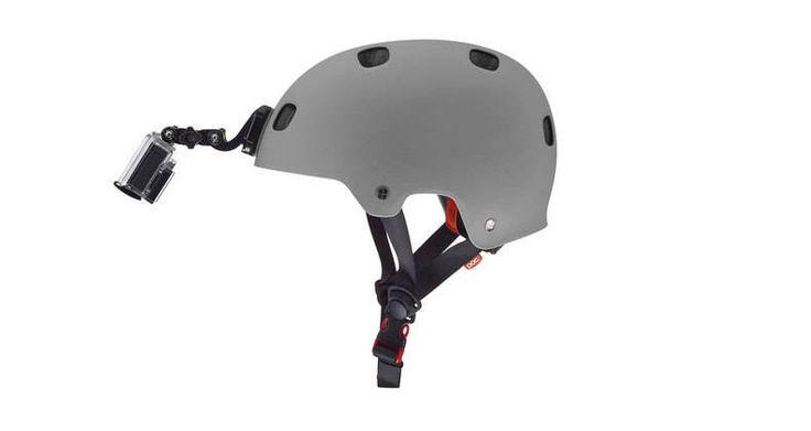 Fixation frontale pour casque - Boutique officielle GoPro: Caméras numériques embarquées pour les sportifs