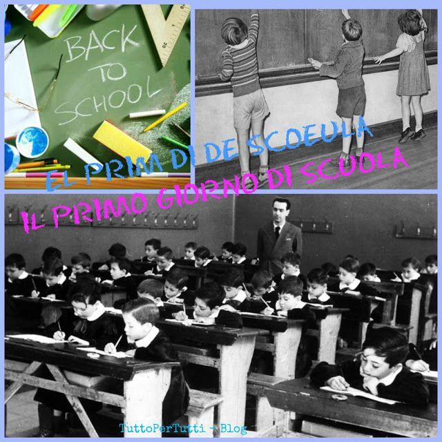Buon anno scolastico, allievi, insegnanti, bidelli, segretari, rappresentanti di classe.... insomma a tutti!! http://tucc-per-tucc.blogspot.it/2016/09/el-prim-di-de-scoeula-il-primo-giorno.html