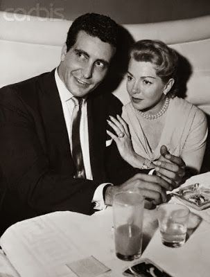 Lana Turner and Johnny Stompanato.