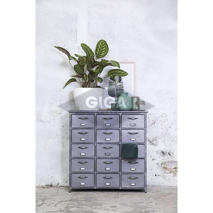 Voordelige industriele meubelen bij Giga meubel