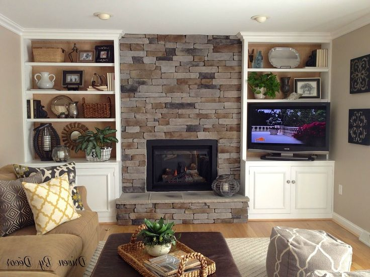 The 25 Best Bookshelves Around Fireplace Ideas On Pinterest With Shelves And Wall Units