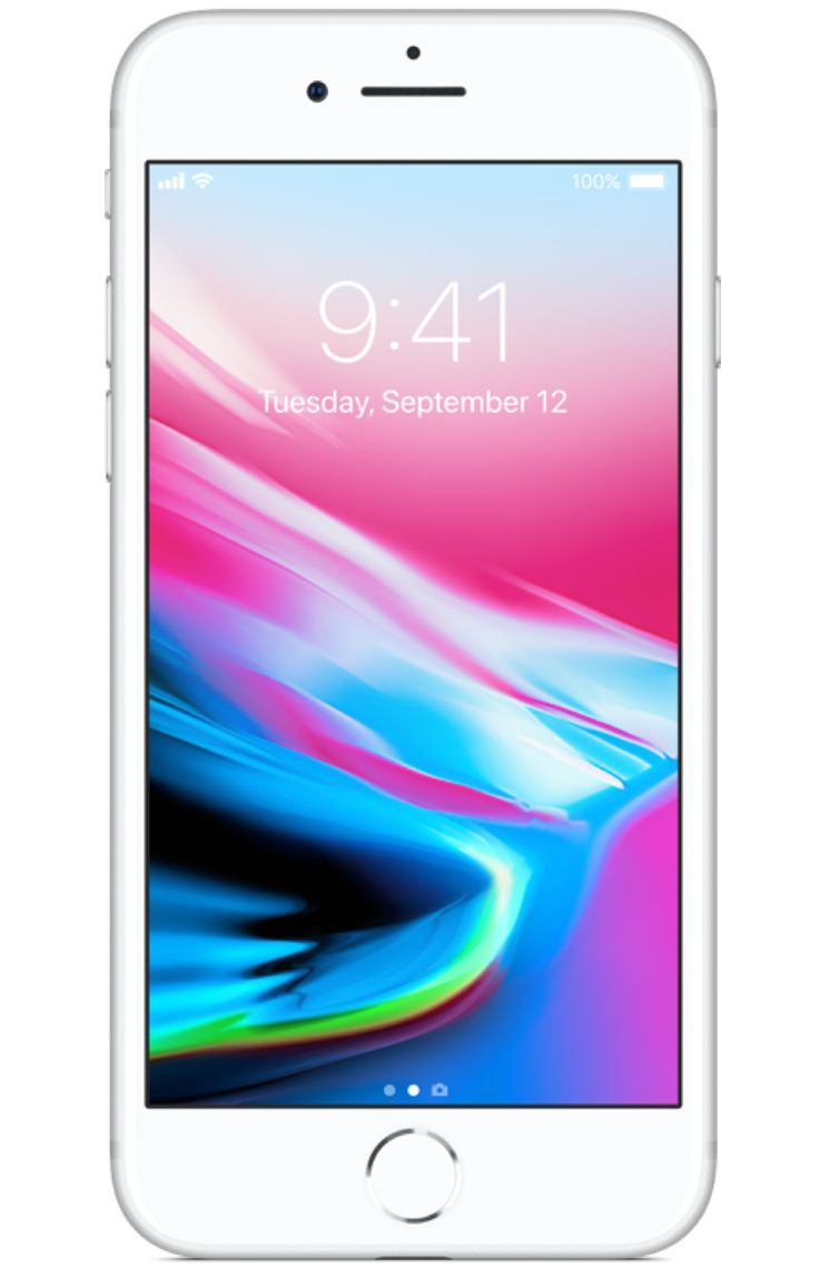 Apple iphone 8 64gb silver boost mobile in 2020