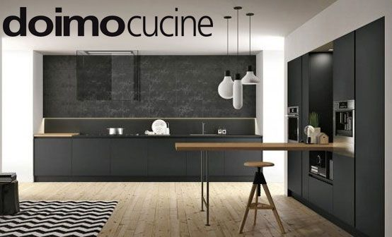 ASPEN kitchen by Doimo Cucine it's unlike any other! technology and design perfectly mixed creating an original composition. the structure of doors is made of alluminium and allow the front part to be in different materials like glasses or natural oaks, laminates, corian and the innovative Fenix. www.doimocucine.it - www.togninarredamenti.eu - TOGNIN ARREDAMENTI authorized dealer.