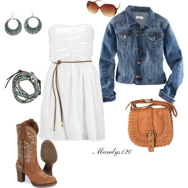 Country outfit. Cute dress jacket odea