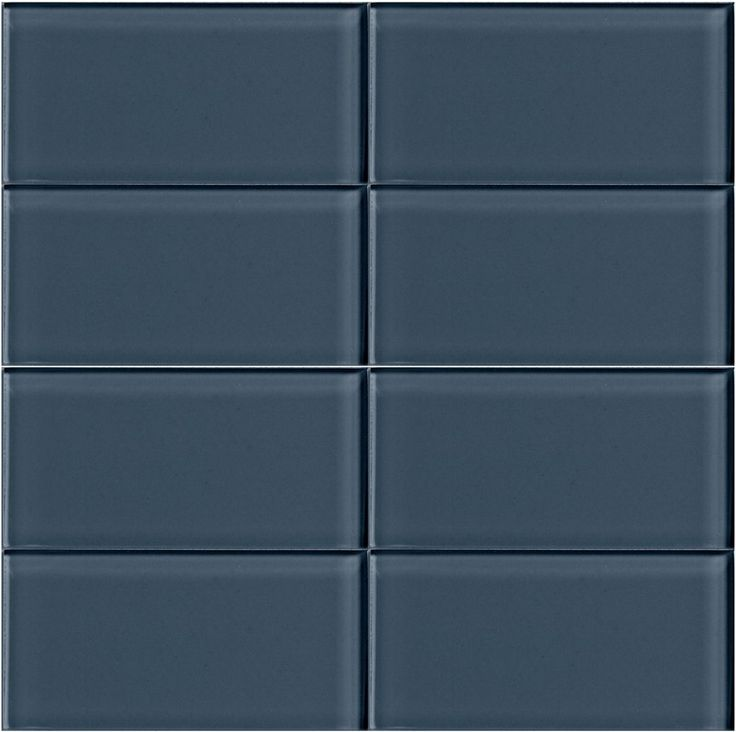 Modern Lush Dark Gray Extra Large Glass Subway Tile In Storm. At Thick, Its  Depth Of Color Makes It A Stunning Bathroom Or Kitchen Backsplash Tile.