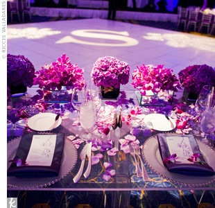 Hot Pink And Purple Wedding Theme Image collections - Wedding ...