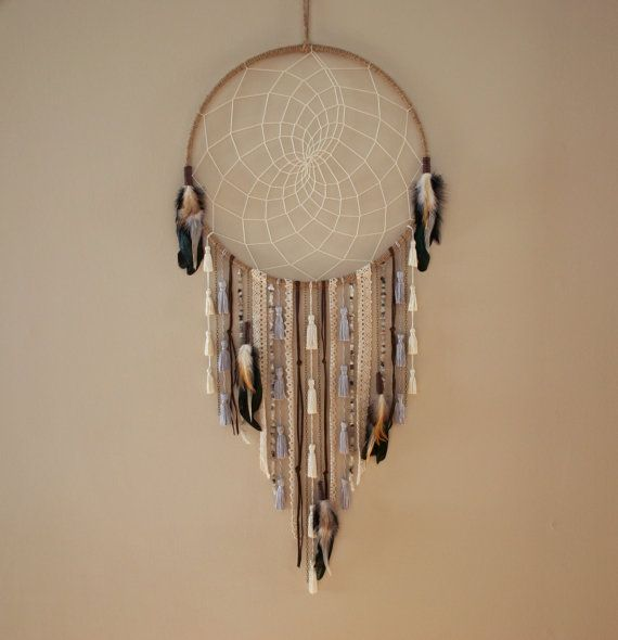 Hey, I found this really awesome Etsy listing at https://www.etsy.com/ca/listing/222779688/natural-feather-and-tassel-large