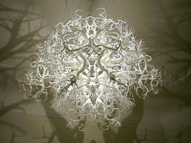 Lampe Selber Machen Wald Schatten Effekt Dekorative Leuchten Kronleuchter Modern Kronleuchter