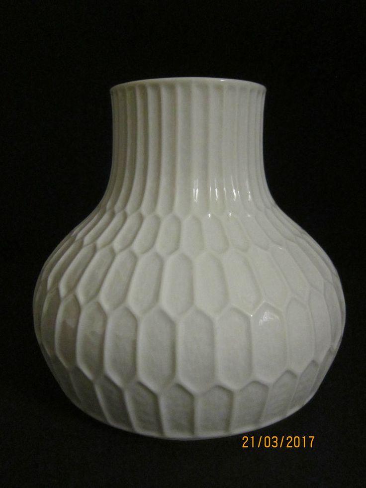 Fürstenberg Porzellan Vase Reliefvase Modell 1436/11