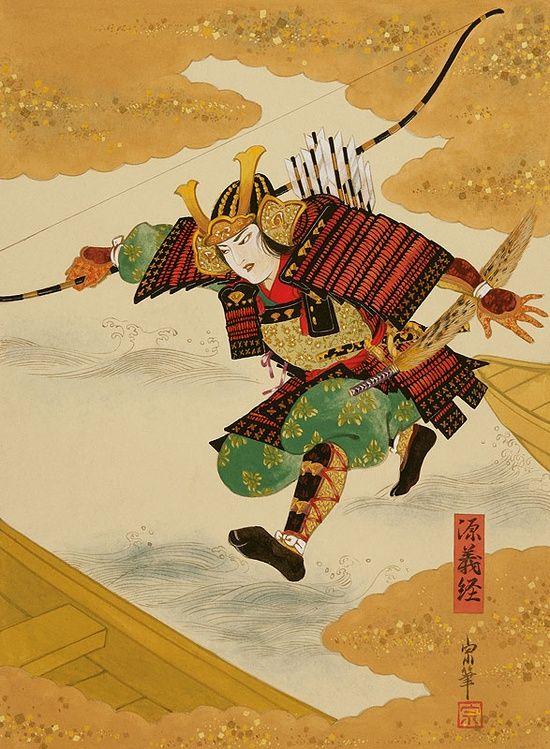 taishou-kun: Tsukuda Kisho 佃喜翔 Tomoe Gozen 巴御前, Atsumori 敦盛, Yoshitsune 義経 - 2000s