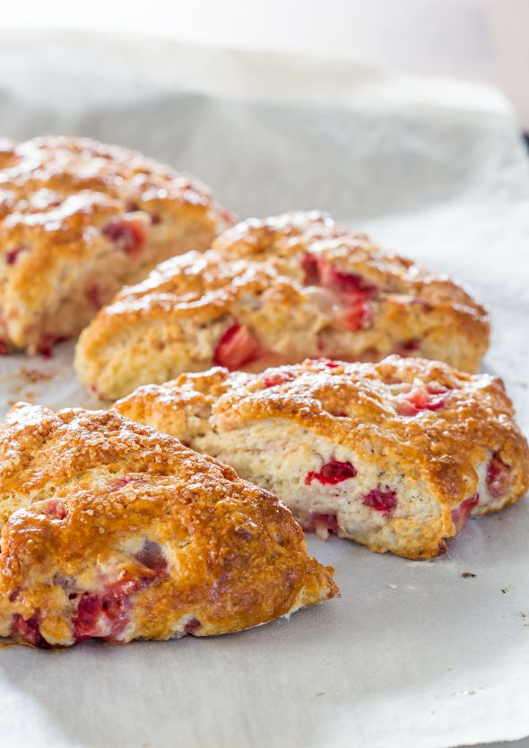 Easy Strawberry Scones