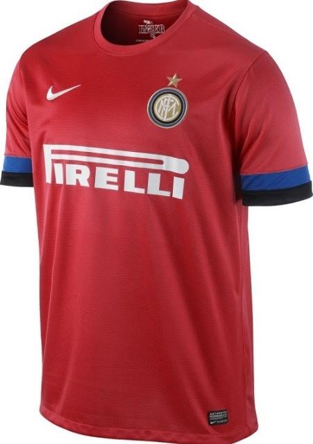 Indumentaria Inter 2012-13