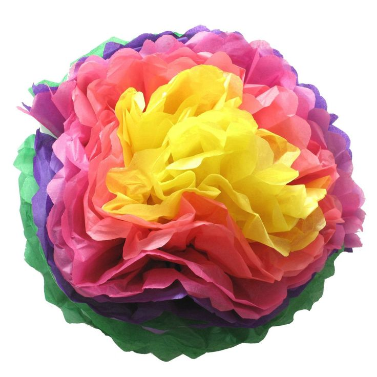 how to make tissue paper pom poms flowers Introduction: tissue paper pom poms by angelabchua follow more by  first, i use only half of a full sheet of tissue paper to make paper flowers.