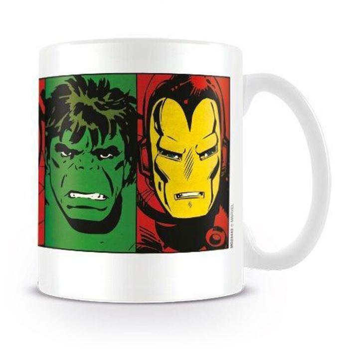 Marvel Comics Faces Retro Mug  £5.99