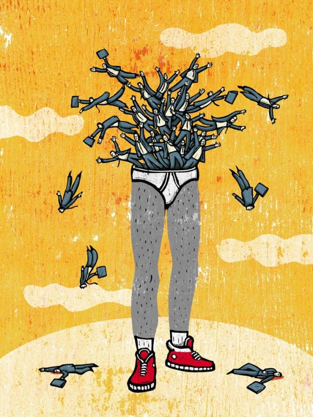 Illustration by Alberto Ruggieri. More images on http://getinspiredmagazine.com/invited/alberto-ruggieri/