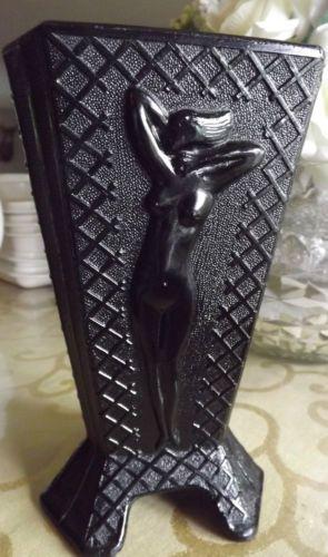 Vintage nude lady vase