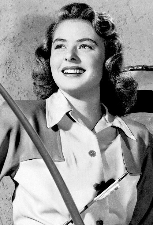 Ingrid Bergman ~ c. 1946