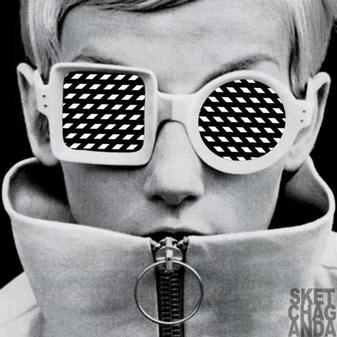 Op art sunglasses part 4 gif by Sketchaganda Follow @sketchaganda