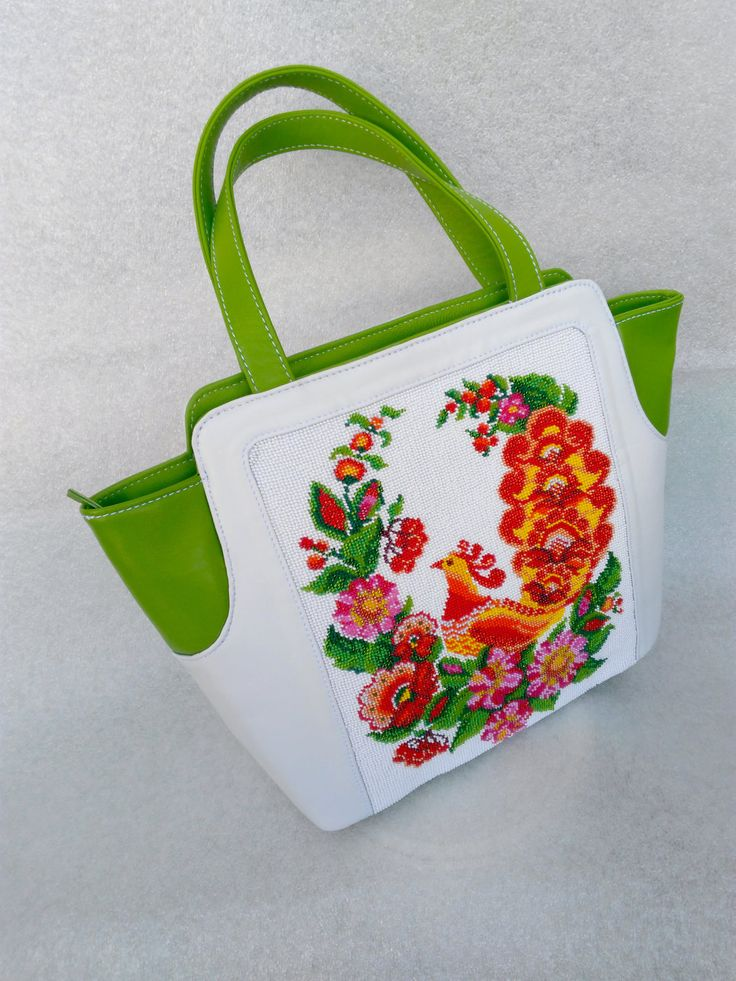 Evening handbag, happy bird, EMBROIDERED, Ukrainian embroidery, Suede bag, Top Handle Bags, classical bag, flower bag by Yourembroidereddream on Etsy