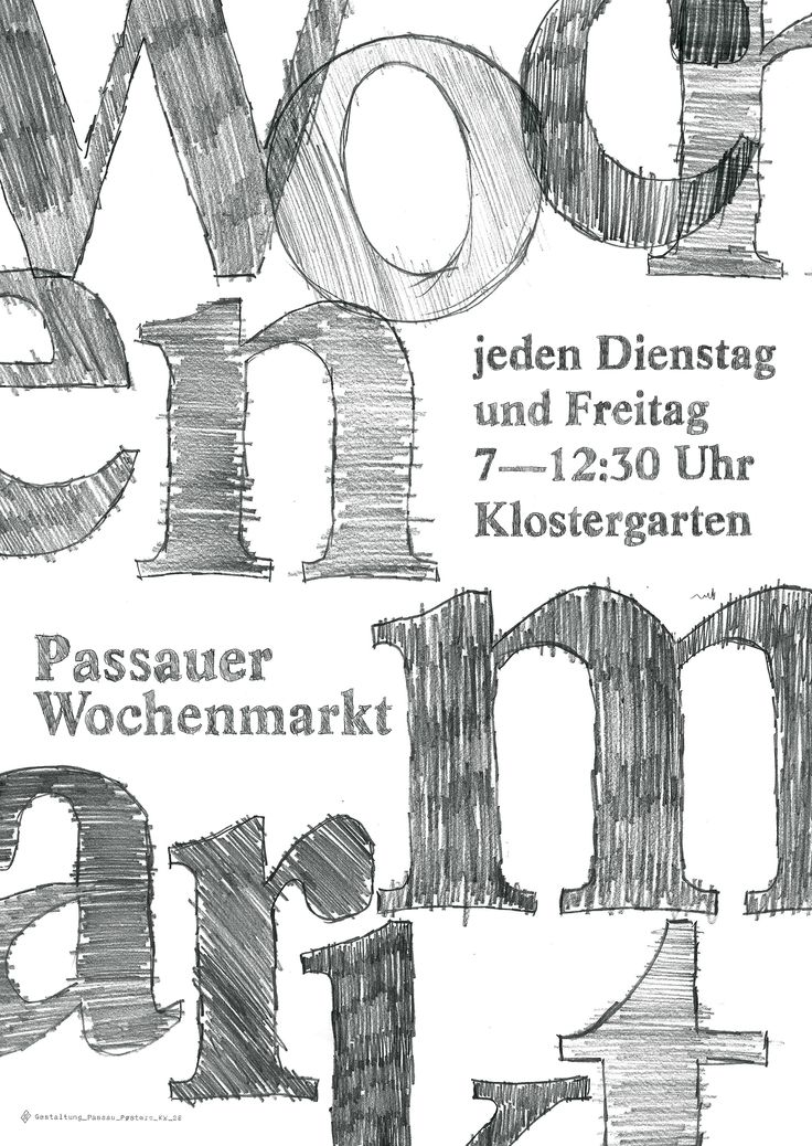 passau poster kw_26 #wochenmarkt #passau #fotoausstellung #bio #lebensmittel #poster #plakat #typography #graphic_design #black_and_white #pure_typography #design #prints #inspiration