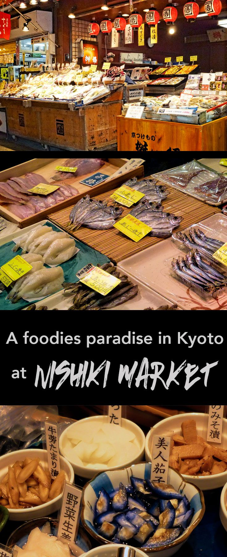 If you're a foodie or cultural traveller you need to find a little time in Kyoto city (Japan) to visit this historic market and give your taste buds a treat with a few unique and special tasters along the way,