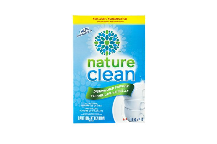 96.7% Natural Automatic Dishwasher Powder   Nature Clean
