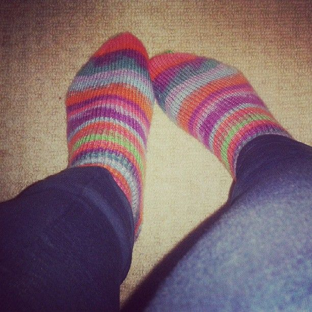 Hand knitted socks!: