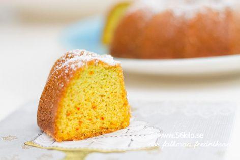 Glutenfri sockerkaka med saffran